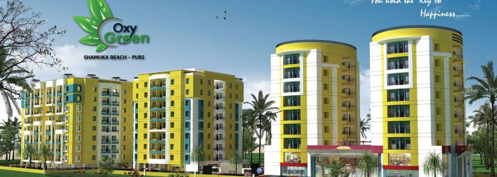 Oxy Green, Puri - 1 BHK & Studio Flats