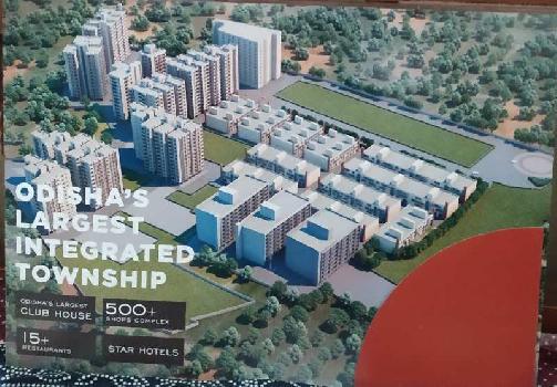 2 BHK 1225 Sq.ft. Residential Apartment for Sale in Bamphakuda, Bhubaneswar