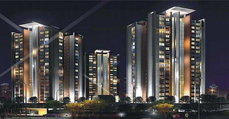 3 BHK Flats & Apartments for Sale in Manpada, Mumbai - 711 Sq. Feet