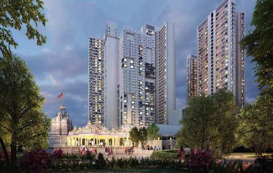 1 BHK 35 Sq. Meter Residential Apartment for Sale in Thane West