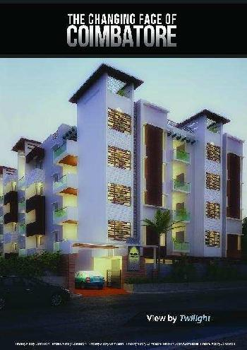 2 BHK 1370 Sq.ft. Residential Apartment for Sale in Madampatti, Coimbatore