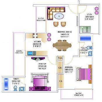 2 BHK 1150 Sq.ft. Builder Floor for Sale in Sector 46 Noida