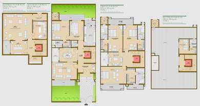 4 BHK Flats & Apartments for Sale in Sector 150, Noida - 3150 Sq. Feet