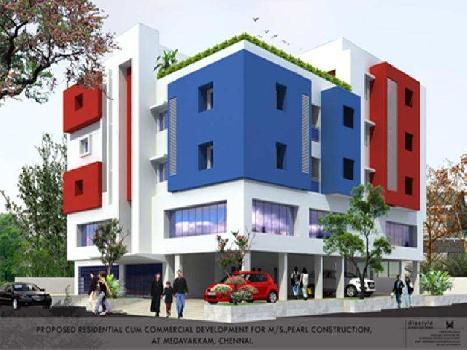 3 BHK 1096 Sq.ft. Residential Apartment for Sale in Baba Nagar, Villivakkam, Chennai