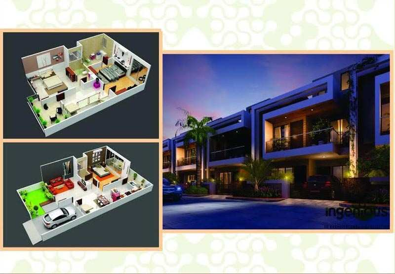 3 BHK Individual House for Sale in Satna - 1050 Sq. Feet