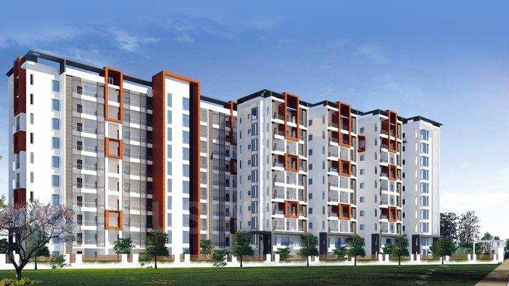 3 BHK Flats & Apartments for Sale in South Civil Lines, Jabalpur - 1000 Sq. Feet