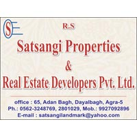 166 Sq. Yards Residential Plot for Sale in Dayal Bagh, Agra