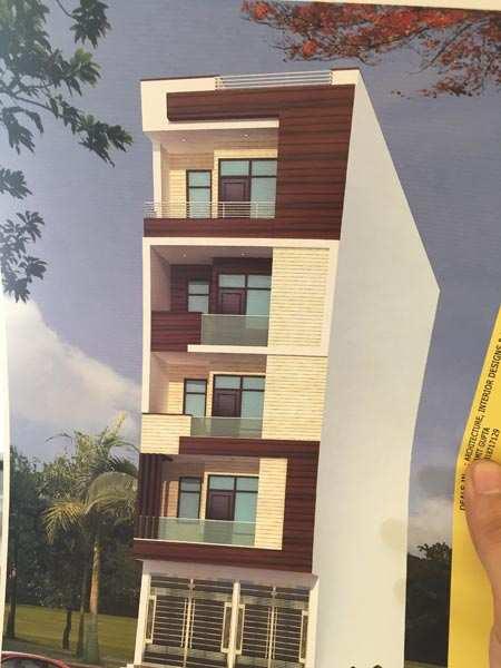 2 BHK Builder Floor for Sale in Nawada, West Delhi - 75 Sq. Yards