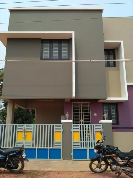 2 BHK Individual House for Sale in Thanjavur - 950 Sq. Feet