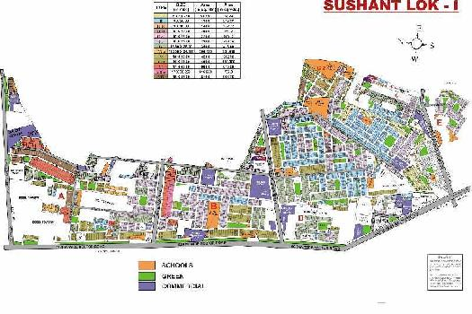 300 Sq. Yards Residential Plot for Sale in Sushant Lok Phase I, Gurgaon