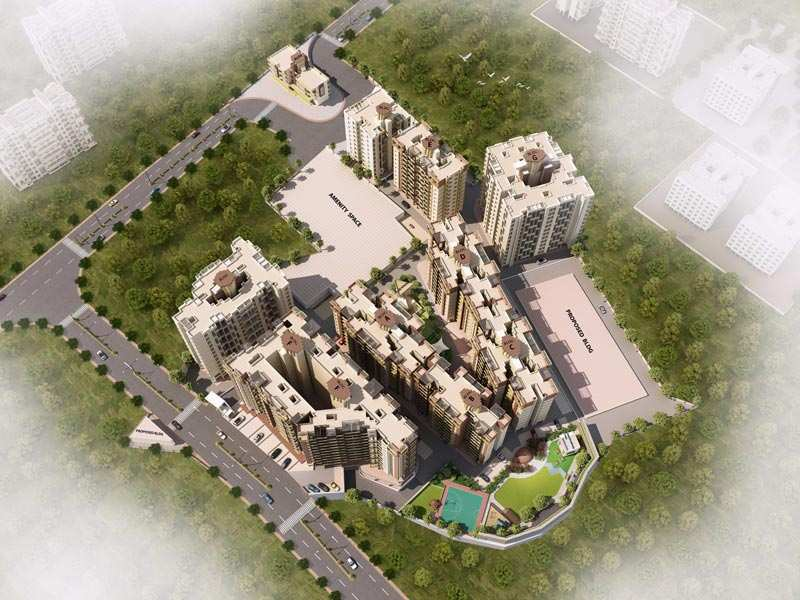 1 BHK Flats & Apartments for Sale in Ambegaon, Pune - 614 Sq. Feet