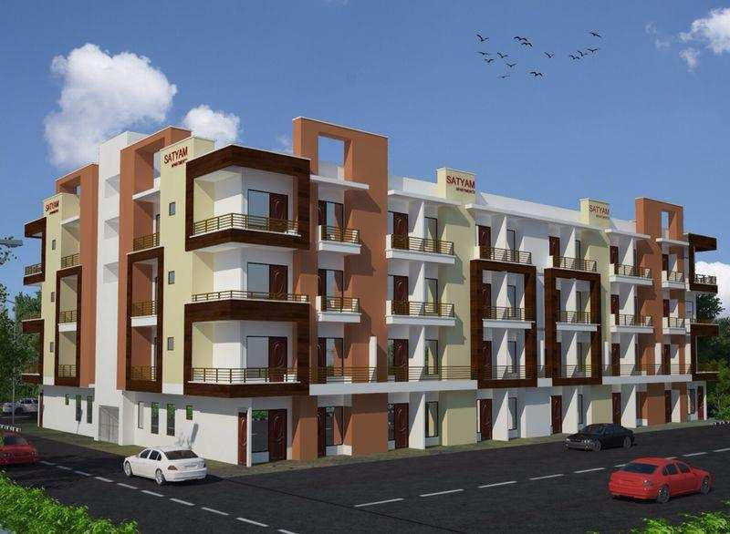 2 BHK Flats & Apartments for Sale in Ghaziabad - 1.5 Acre