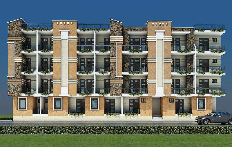 2 BHK Flats & Apartments for Sale in Nh 24 Highway, Ghaziabad - 1.5 Acre