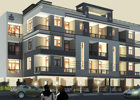 3 BHK Builder Floor for Rent in Uttar Pradesh - 150 Sq. Yards