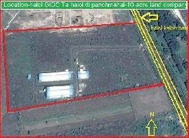 793785.8 Sq.ft. Commercial Land for Sale in Halol, Panchmahal