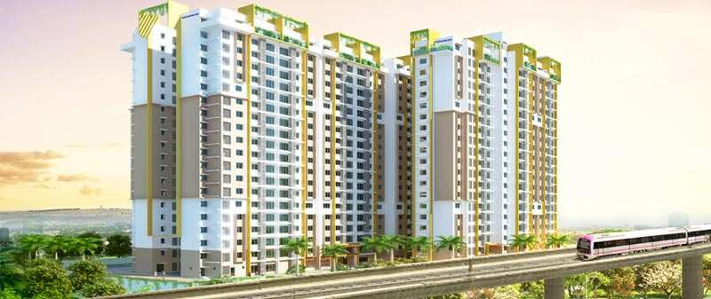 2 BHK Flats & Apartments for Sale in Magadi Road, Bangalore - 1216 Sq.ft.