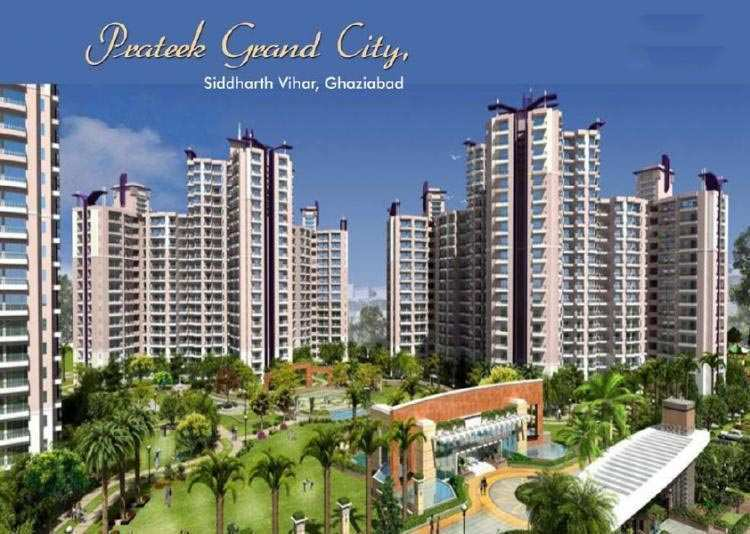 2 BHK Flats & Apartments for Sale in Ghaziabad - 1050 Sq. Feet