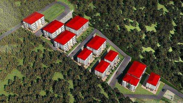 1 BHK Flats & Apartments for Sale in Himachal Pradesh - 738 Sq. Feet