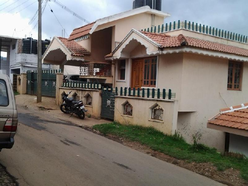 5 BHK Individual House for Sale in Ooty - 1500 Sq. Feet