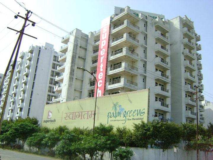 2 BHK Flats & Apartments for Sale in Delhi Road, Moradabad - 835 Sq. Feet