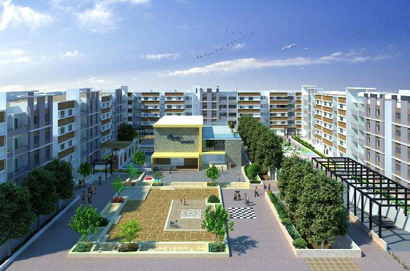 3 BHK Flats & Apartments for Sale in Electronic City ...