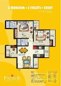 3 BHK Flat for Rent in Sector 168, Noida