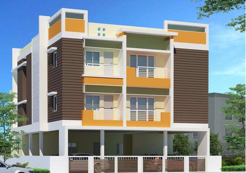 3 BHK Flats & Apartments for Sale in Visakhapatnam - 1285 Sq. Feet