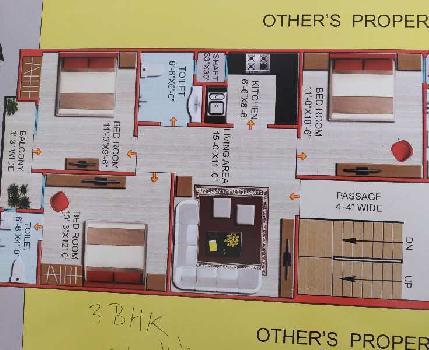 2 BHK 62 Sq. Yards House & Villa for Sale in Mohan Garden, Delhi