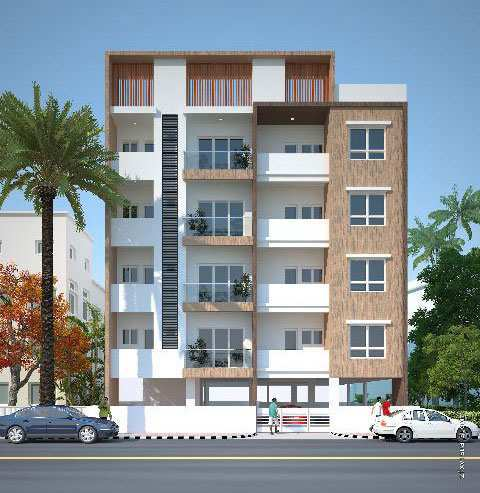 2 BHK Flats & Apartments for Sale in Vivek Nagar, Bangalore - 930 Sq.ft.