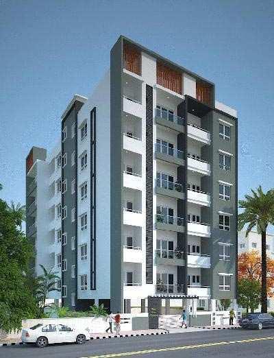 3 BHK Flats & Apartments for Sale in Vivek Nagar, Bangalore - 1420 Sq. Feet