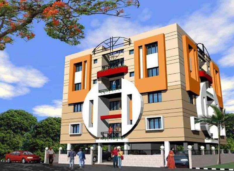 3 BHK Flats & Apartments for Sale in Garia, Kolkata - 1356 Sq.ft.