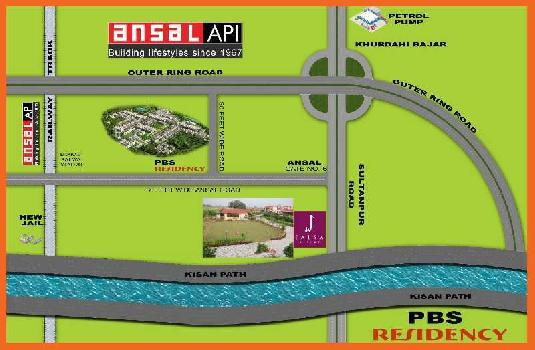 1025 Sq.ft. Residential Plot for Sale in Sultanpur Road, Lucknow