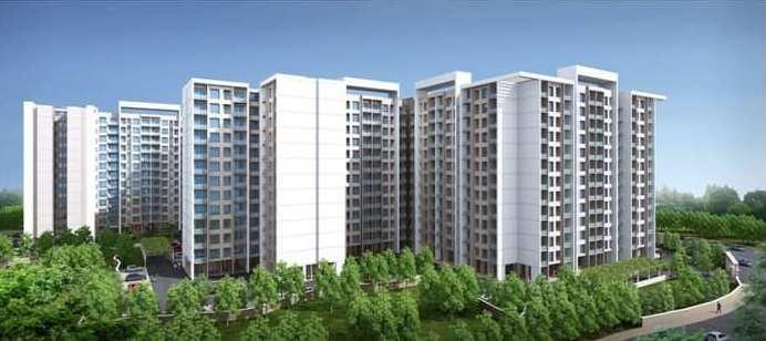 3 BHK 1590 Sq.ft. Residential Apartment for Sale in Madanpur, Bhubaneswar