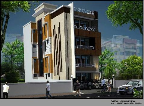 3 BHK 1613 Sq.ft. Builder Floor for Sale in Indra Nagar, Kanpur
