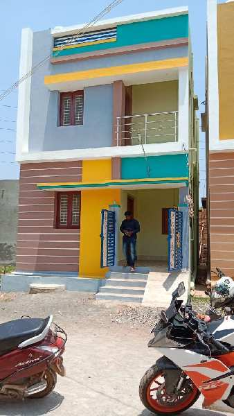 2 BHK 950 Sq.ft. House & Villa for Sale in Sikkandar Chavadi, Madurai