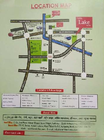 3500 Sq.ft. Commercial Land for Sale in Nagram Road, Lucknow