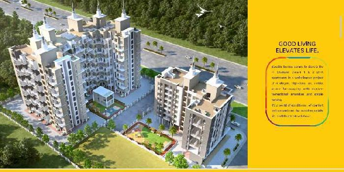 1 BHK 610 Sq.ft. Residential Apartment for Sale in Chakan, Pune