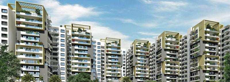 3 BHK Flats & Apartments for Sale in Yelahanka, Bangalore - 1695 Sq. Feet