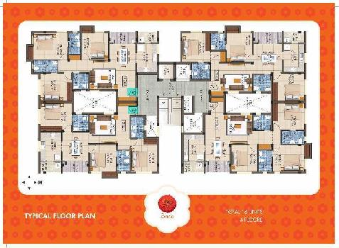 3 BHK 1310 Sq.ft. Residential Apartment for Sale in Madampatti, Coimbatore