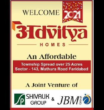 3 BHK 702 Sq.ft. Residential Apartment for Sale in Sector 143 Faridabad