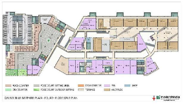 226 Sq.ft. Office Space for Sale in Sector 4 Greater Noida