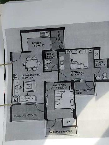 2 BHK 1105 Sq.ft. Builder Floor for Sale in Greater Noida West