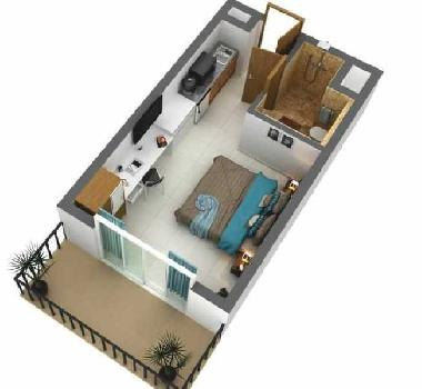 435 Sq.ft. Studio Apartment for Sale in Sector Zeta 1 Greater Noida