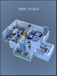 711 Sq.ft. Flat for Sale in Haridwar