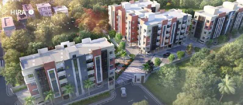 2 BHK 950 Sq.ft. Residential Apartment for Sale in Narendrapur, Kolkata