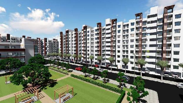 2 BHK 1073 Sq.ft. Residential Apartment for Sale in Khapri, Nagpur