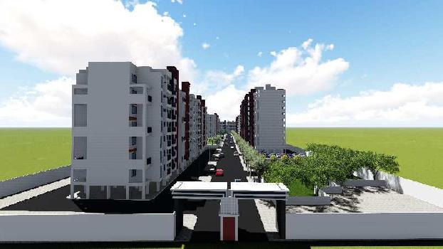 2 BHK 1073 Sq.ft. Residential Apartment for Sale in New Khapri, Nagpur