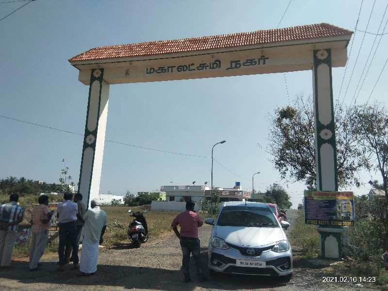 3 Cent Residential Plot for Sale in Gobichettipalayam, Erode