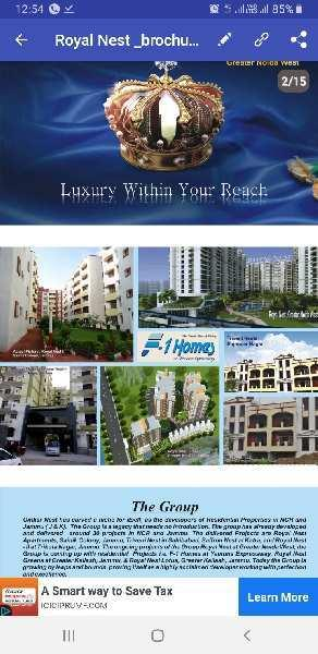 2 BHK 1005 Sq.ft. Residential Apartment for Sale in Sector 1 Greater Noida