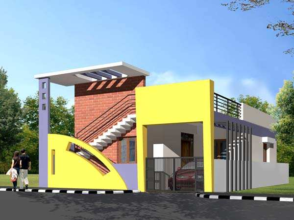 2 bhk individual house on sale in chennimalai road erode for Individual house front elevation